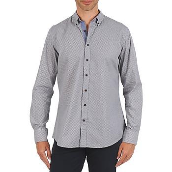 衣服 男士 长袖衬衫 Hackett MEDALLION MULTI BD 蓝色