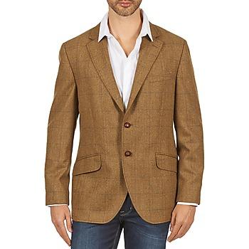 衣服 男士 外套/薄款西服 Hackett TWEED WPANE 棕色