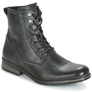 鞋子 男士 短筒靴 Casual Attitude RIBELLE 黑色