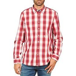 衣服 男士 长袖衬衫 Gaastra 嘉仕堡 ECHO SOUNDING 红色