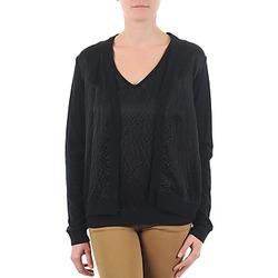 衣服 女士 羊毛开衫 Majestic 238 黑色