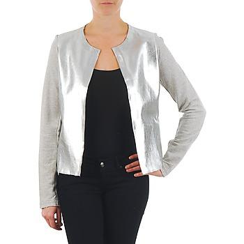 衣服 女士 外套/薄款西服 Majestic 93 灰色 / 银色