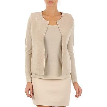 衣服 女士 羊毛开衫 Majestic 241 米色