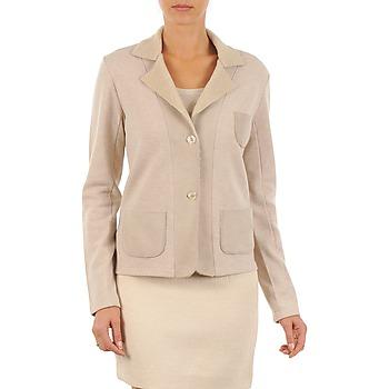 衣服 女士 外套/薄款西服 Majestic 244 米色