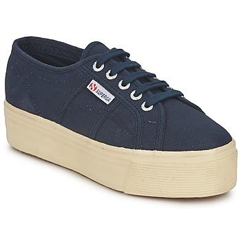 鞋子 女士 球鞋基本款 Superga 2790 LINEA UP AND 海蓝色