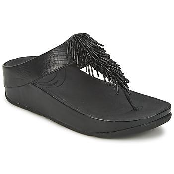 鞋子 女士 涼鞋 FitFlop CHACHA 黑色