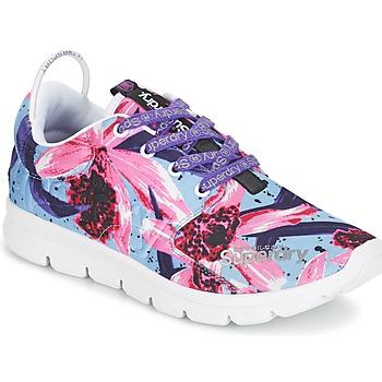 鞋子 女士 球鞋基本款 Superdry 极度干燥 SUPERDRY SCUBA RUNNER 玫瑰色 / 蓝色