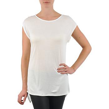 衣服 女士 短袖体恤 La city TS CROIS D6 白色