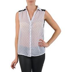 衣服 女士 衬衣/长袖衬衫 La city O DEB POIS 白色