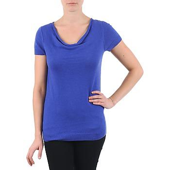 衣服 女士 短袖体恤 La city PULL COL BEB 蓝色