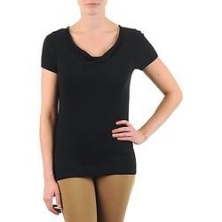 衣服 女士 短袖体恤 La city PULL COL BEB 黑色