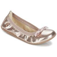 鞋子 女孩 平底鞋 Le Temps des Cerises LILOU 金色
