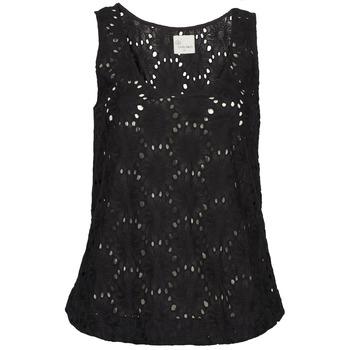 衣服 女士 无领短袖套衫/无袖T恤 Stella Forest ADE007 黑色