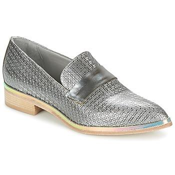 鞋子 女士 德比 Now METUZI 银色