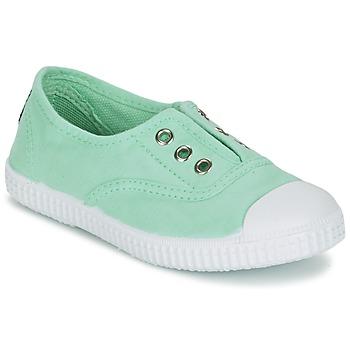 鞋子 女孩 球鞋基本款 Chipie JOSEPE 绿色 / 乳蓝色