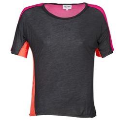 衣服 女士 短袖体恤 American Retro CAROLE 黑色 / 玫瑰色