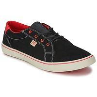 鞋子 女士 球鞋基本款 DC Shoes COUNCIL W 黑色 / 红色