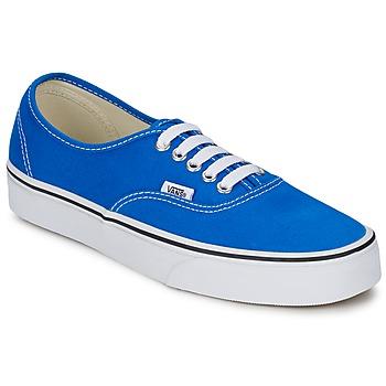 鞋子 球鞋基本款 Vans 范斯 AUTHENTIC 蓝色 / 白色