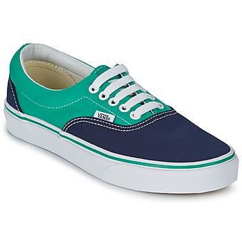 鞋子 球鞋基本款 Vans 范斯 ERA 蓝色 / 绿色
