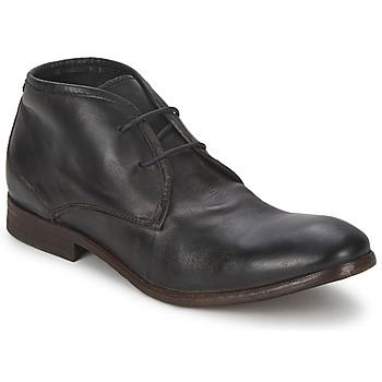 鞋子 男士 短筒靴 Hudson CRUISE 黑色