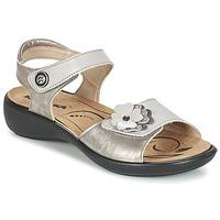 鞋子 女士 凉鞋 Romika IBIZA 67 银色