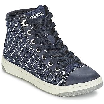 鞋子 女孩 高帮鞋 Geox 健乐士 CREAMY B 海蓝色