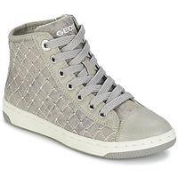 鞋子 女孩 高帮鞋 Geox 健乐士 CREAMY B 灰色