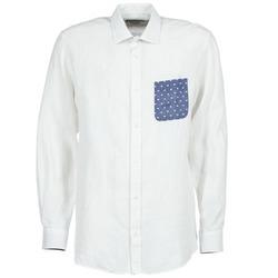 衣服 男士 長袖襯衫 Serge Blanco CHACA 白色