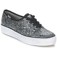 鞋子 女士 球鞋基本款 Keds TRIPLE GLITTER 银色