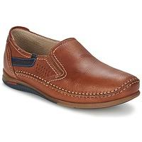 鞋子 男士 平底鞋 Fluchos 富乐驰 CATAMARAN 棕色
