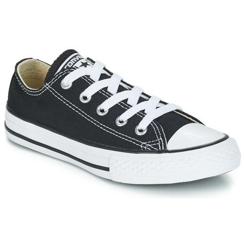 鞋子 儿童 球鞋基本款 Converse 匡威 CHUCK TAYLOR ALL STAR CORE OX 黑色