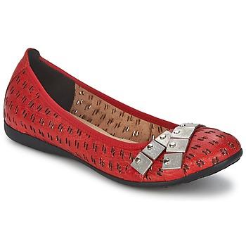鞋子 女士 平底鞋 Un Matin d'Ete 夏日晨光 DISTRICTY 红色