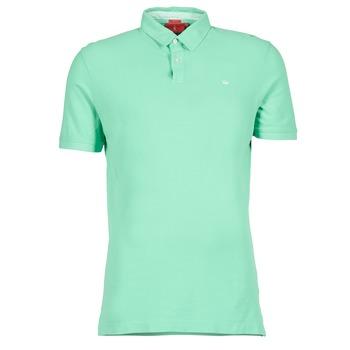衣服 男士 短袖保罗衫 Vicomte A. GARMENT DYE 绿色