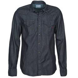 衣服 男士 长袖衬衫 Replay M4860N 灰色