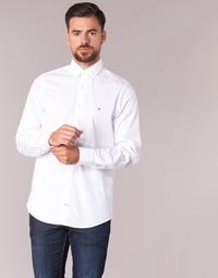 衣服 男士 长袖衬衫 Tommy Hilfiger STRETCH POPLIN 白色