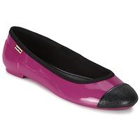 鞋子 女士 平底鞋 Hunter 赫特威灵頓 ORIGINAL BALLET FLAT 覆盆子红