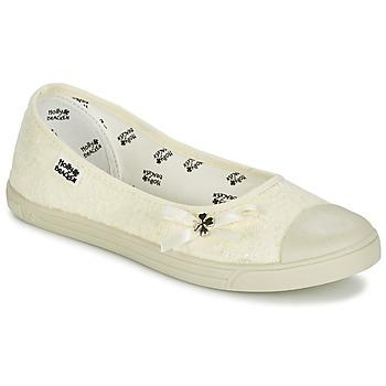 鞋子 女士 平底鞋 Molly Bracken LONA STRASS 奶油色