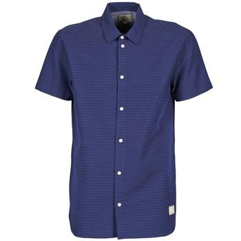 衣服 男士 短袖衬衫 Suit DAN S 蓝色