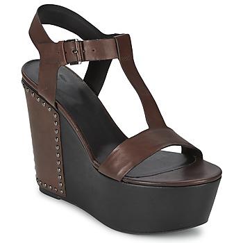 鞋子 女士 凉鞋 Vic 维克 GIBSON 棕色