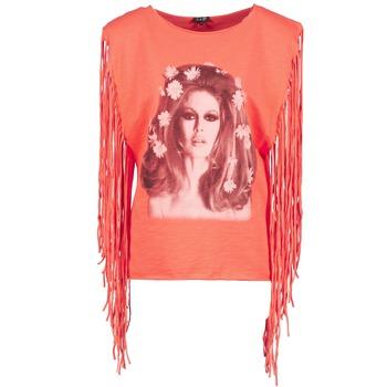 衣服 女士 无领短袖套衫/无袖T恤 Brigitte Bardot BB44075 珊瑚色