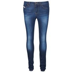 衣服 女士 紧身牛仔裤 Diesel 迪赛尔 SKINZEE 蓝色
