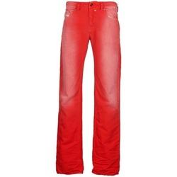 衣服 男士 直筒牛仔裤 Diesel 迪赛尔 SAFADO 红色