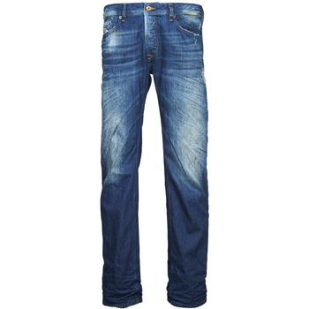衣服 男士 直筒牛仔裤 Diesel 迪赛尔 WAYKEE 蓝色