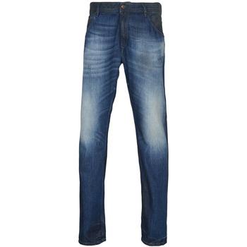 衣服 男士 紧身牛仔裤 Diesel 迪赛尔 KRAYVER 蓝色