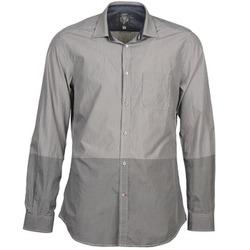 衣服 男士 长袖衬衫 Diesel 迪赛尔 SAUSAN 灰色
