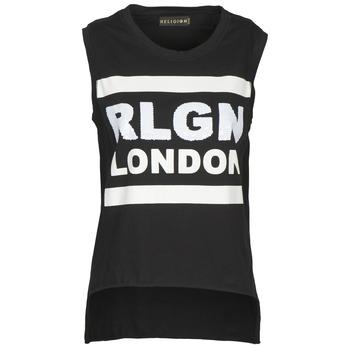 衣服 女士 无领短袖套衫/无袖T恤 Religion B123RGT41 黑色