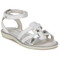 鞋子 女孩 凉鞋 Mod'8 HOPAL 白色