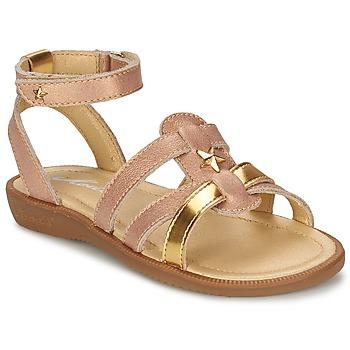 鞋子 女孩 凉鞋 Mod'8 HOPAL 玫瑰色
