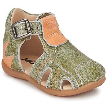鞋子 男孩 凉鞋 Mod'8 ALUCINE 绿色 / 橙色