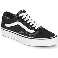 鞋子 球鞋基本款 Vans 范斯 OLD SKOOL 黑色 / 白色